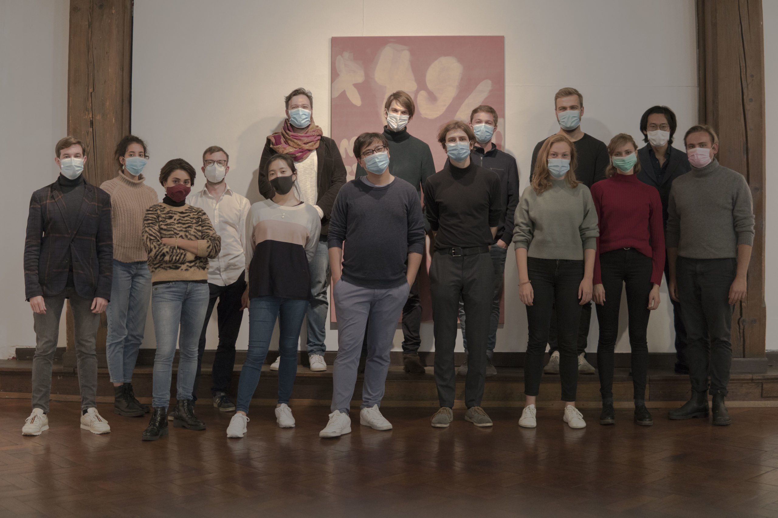Ein Gruppenbild der Musiker und Veranstalter des Ponte-Festivals 2020